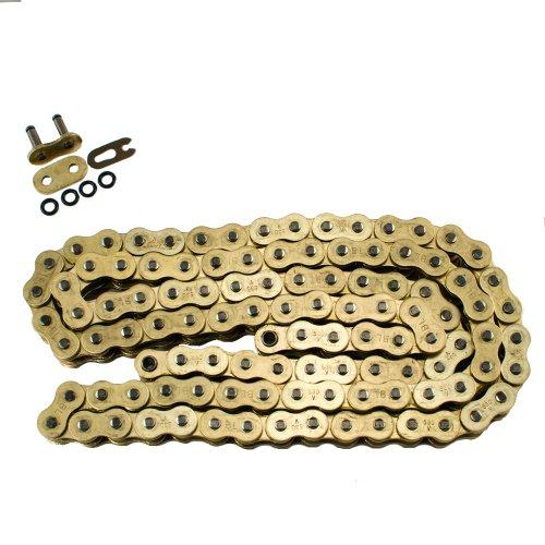 Max Motosports 530 Pitch 104 Links Gold O-Ring Chain for Kawasaki KH400 1976 1977 1978