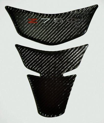 Kawasaki Z-750 Z750 Carbon Fiber Motorcycle Tank Protector Pad Sticker