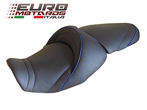 Top Sellerie France Deluxe Comfort Seat HeatedLoweredGel Kawasaki Z750 Z750R 2007-2013 REF4430