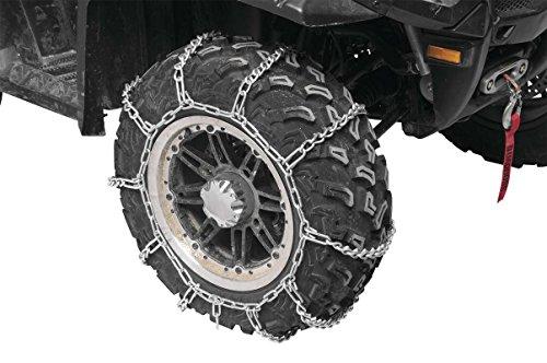 2004-2009 Kawasaki 700 V-Force - Rear Snow Chains 2 Chains - Tire Size 22x11x10