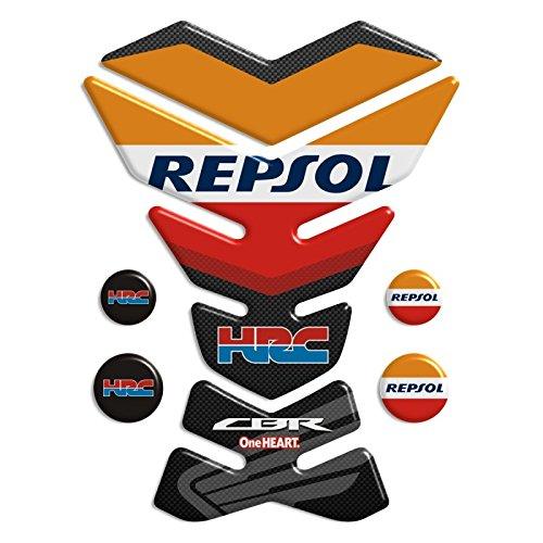 Motorbike Tank Pad Protector Motorcycle Scratch Pad compatible  Repsol Honda CBR york