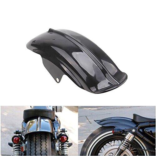 Rear Fender Mudguard Tire Hugger For Harley Sportster Bobber Chopper Cafe Racer Black
