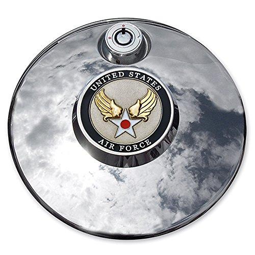 MotorDog69 Air Force Hap Arnold Harley Fuel Door Cover Coin Mount Set…