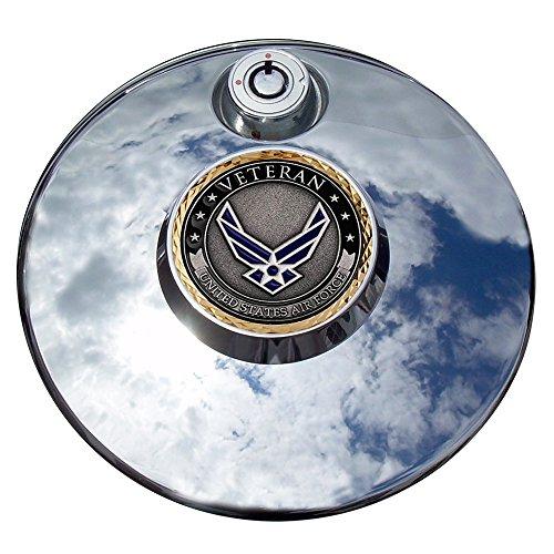 MotorDog69 Air Force Veteran Harley Fuel Door Cover Coin Mount Set…