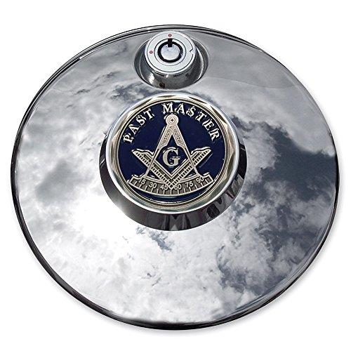 MotorDog69 Masonic Past Master Harley Fuel Door Cover Coin Mount Set…