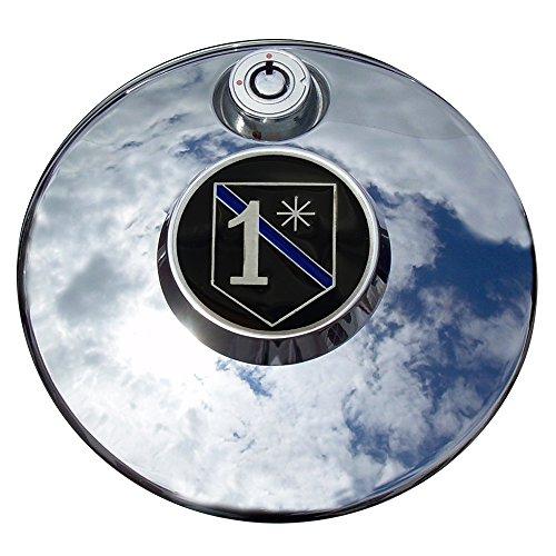 MotorDog69 Police 1 Asterisk Harley Fuel Door Cover Coin Mount Set…