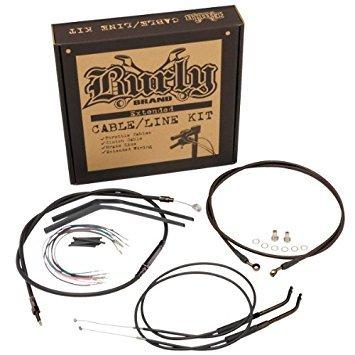 Burly Brand CableBrake Line Kit for Ape Hangers for Harley Davidson 2007-13 FX - 14