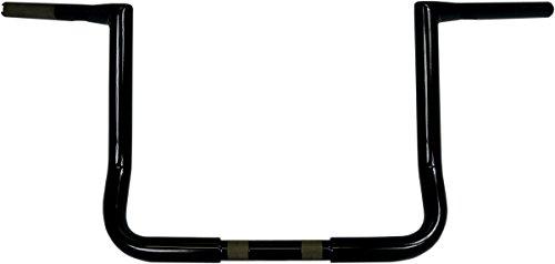 LA CHOPPERS LA-7361KT1-12B Black Ape Hanger Handle Bar Kit BarCbl Kt12 Fl14-15