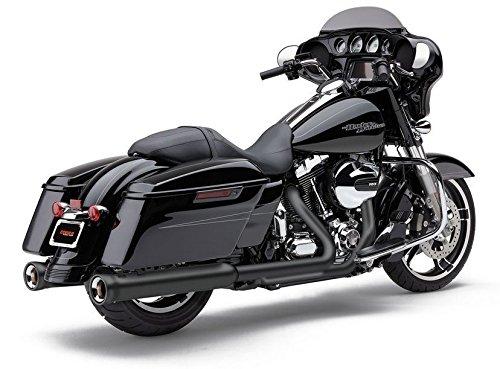 Cobra Black Race-Pro 4 12 in Slip-On Mufflers 2017 Harley-Davidson Baggers 6216RB