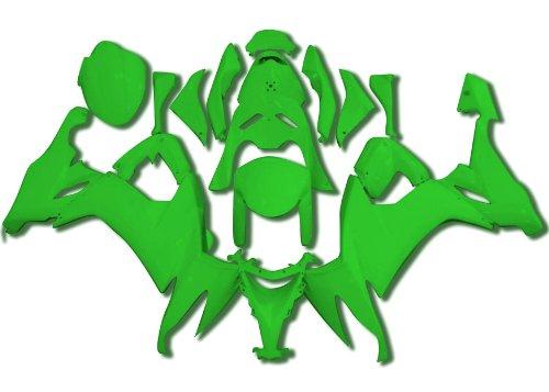 Yana Shiki BKK308GRN Green ABS Plastic Full Body Fairing Kit