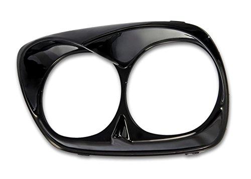 Bagger Brothers BB-HD1584-047B Vivid Black Headlight Bezel Scowl Outer Fairing