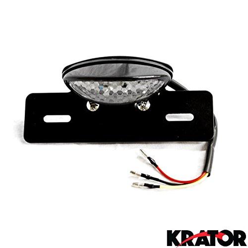 Krator® Custom Led License Plate Taillight Brake Light For Suzuki V-strom Sv650 Sv1000 Tl1000 R S