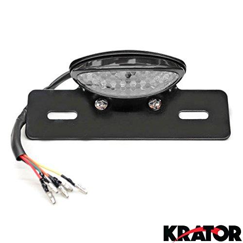 Krator® Custom Led License Plate Taillight Turn Signals For Suzuki V-strom Sv650 Sv1000 Tl1000 R S