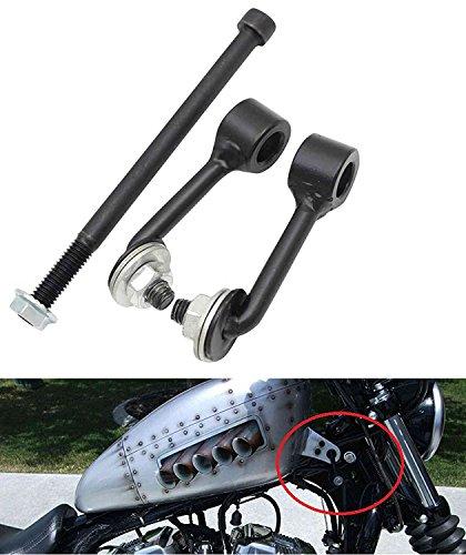 Lisyline Billet 2 Gas Tank Lift Kit For Harley Sportster Irons XL 883 1200 48 72 1995-2017