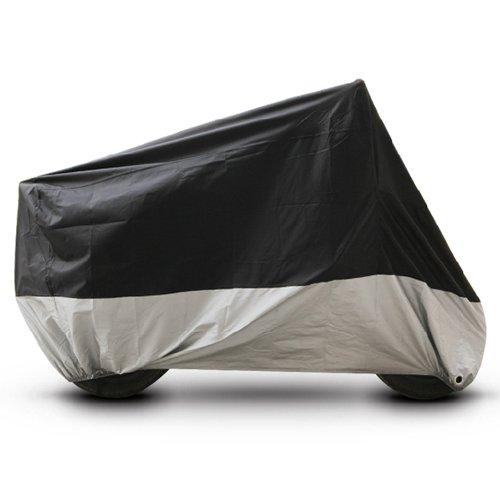 Black Silver Motorcycle Cover For Harley-Davidson VRSC V-Rod Muscle UV Dust Prevention XL