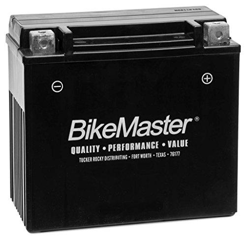 New BikeMaster Maintenance Free Motorcycle Battery - 2008-2013 Harley Davidson VRSC 1250