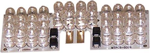 Custom Dynamics Red Single Intensity LED Fender Tip