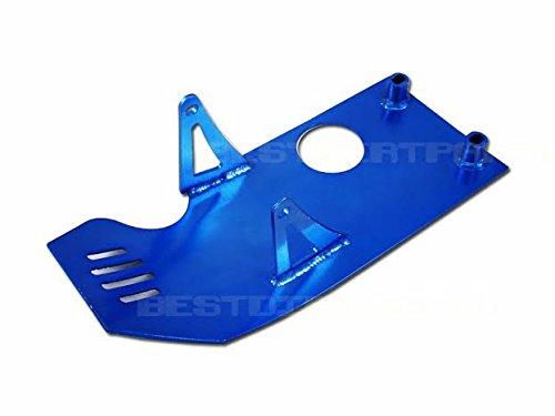 Blue Racing Skid Plate Xr50 Crf50 125cc Pit Bike