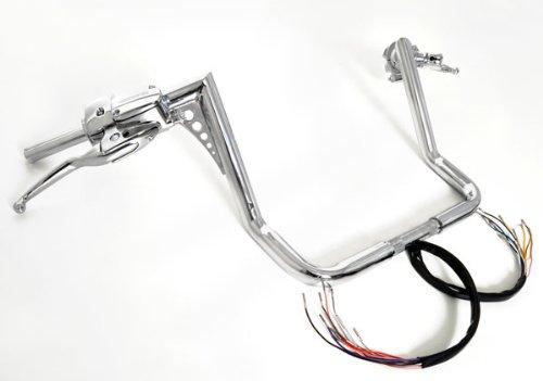 14 Rise Ape Hangers El Diablo 1-14 Hand Controls Harley Dressers Baggers 1996-2012