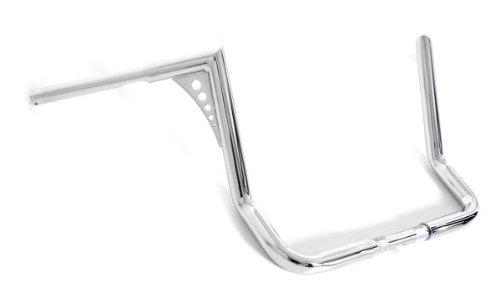 El Diablo Chrome 14 Rise Ape Hangers 1-14 Handlebars Harley Dressers Baggers FLHT FLHTC