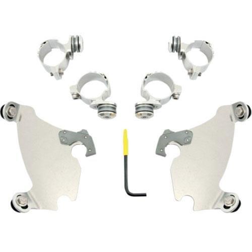 Memphis Shades Gauntlet Fairing Polished Trigger-Lock Mount Kit