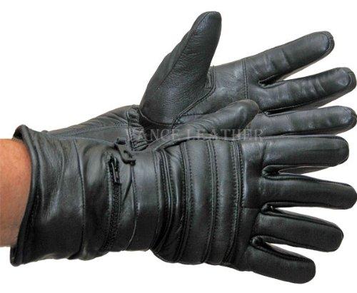 Vance Leather Vl401 Gauntlet Glove With Rain Mitt Large