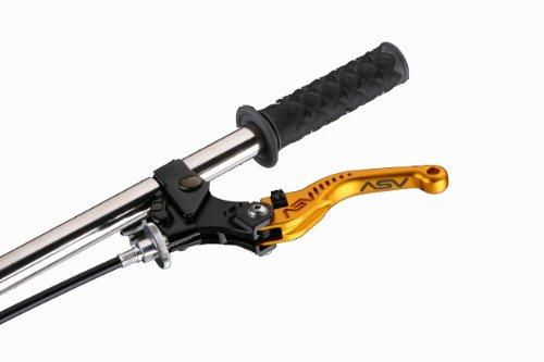 ASV Inventions CRC555-SG C5 Sport Gold Shorty Clutch Lever for ApriliaDucatiMoto Guzzi