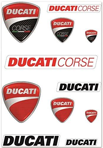 Ducati Corse Company Logo Decal Kit 987694017