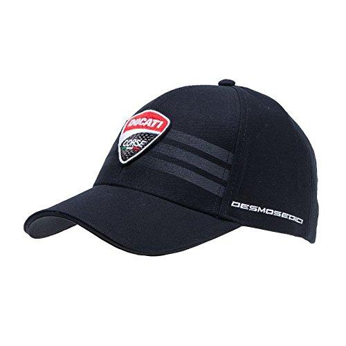 Ducati Corse Official MotoGP Desmosedici Stripe Race Team Cap Adjustable Embroidered Snapback Hat Black