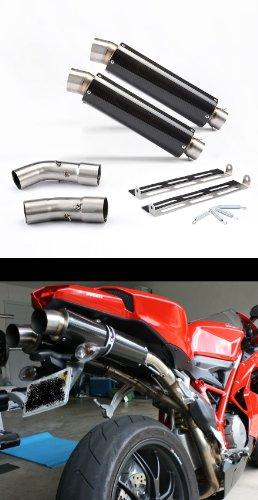 Ducati 84810981198 Carbon GP Exhaust