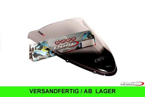 Puig 4667H Light Smoke Racing Screen for a Ducati 848 08-13
