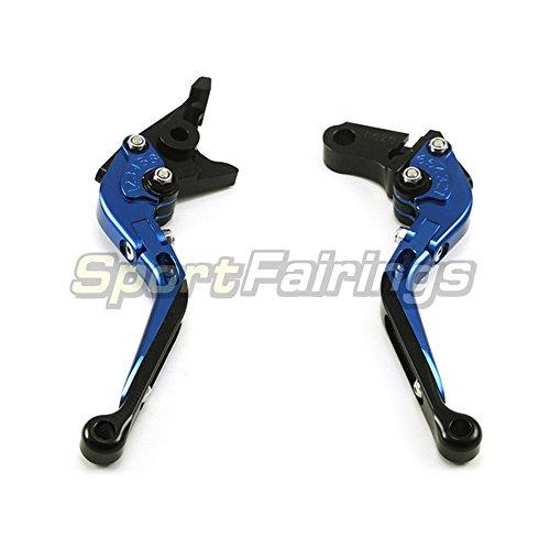 Sportfairings Motorcycle Brake Clutch Levers Fit For DUCATI 999SR 749SR S4RS 848EVO 1198SR 1098STricolor M1100SEVO Extendable Blue