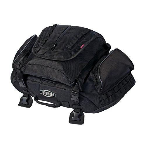 Dowco 04890 Iron Rider Rumble Tail Bag Black