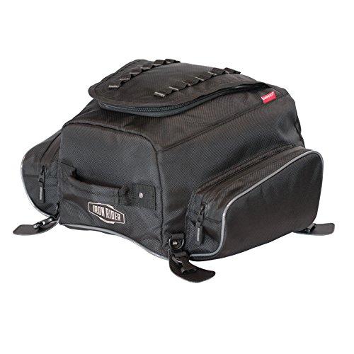 Dowco 04979 Iron Rider Frenzy Tail Bag Black