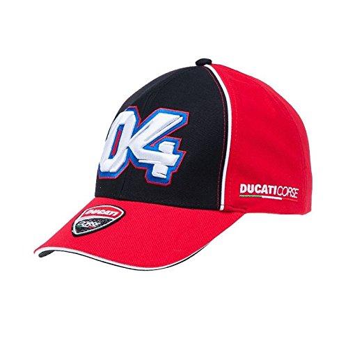 Ducati Corse Official MotoGP Andrea Dovizioso Race Team Cap Adjustable Embroidered Snapback Hat