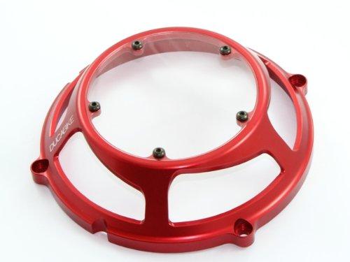 Ducabike Ducati Clutch Cover Billet With Plexiglass