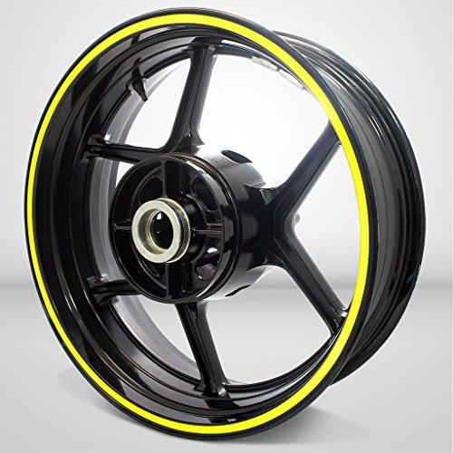 Thick Outer Rim Liner Stripe for Ducati Scrambler Fluorescent Yellow