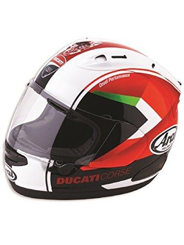 Ducati Corse Red Arrow Helmet Large