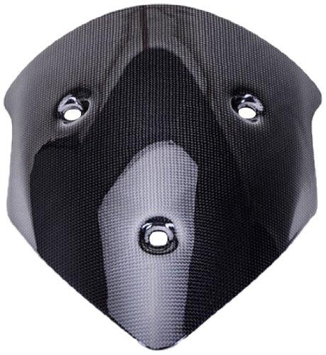 Bestem CBDU-MUL12-WSD Black Carbon Fiber Windscreen for Ducati Multistrada 1200 2010 - 2012