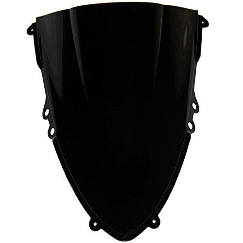 Double Bubble Black Tinted Smoke Windscreen Windshield Visor for 2013 Ducati 1199 Panigale