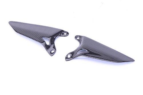 Bestem CBDU-1098-HGD Carbon Fiber Heel Guard Plates for Ducati 848 1098 1198