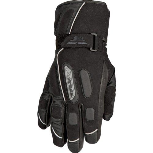 Fly Racing Trekker Women's Waterproof Street Bike Motorcycle Gloves - Black / Large