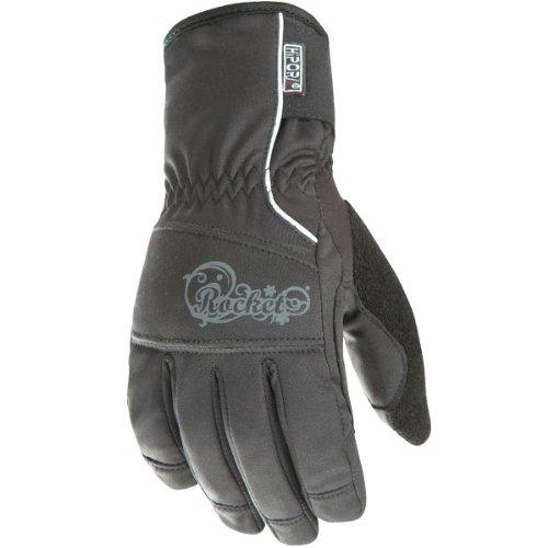 Joe Rocket Ballistic 7.0 Womens Black Waterproof Gloves - X-small