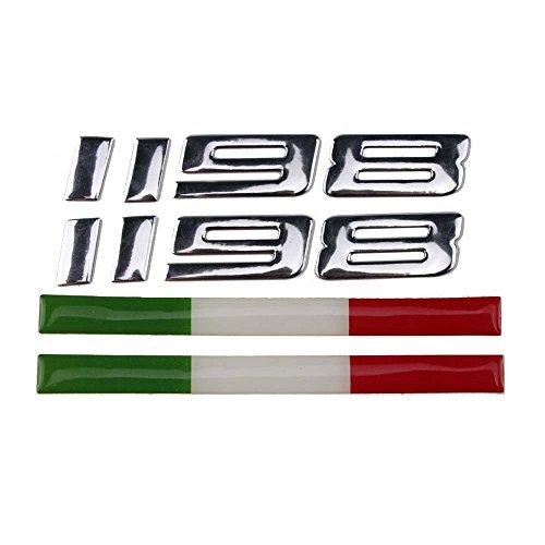 PRO-KODASKIN Motorcycle 3D Italy Sticker Decal Emblem for Ducati 1198