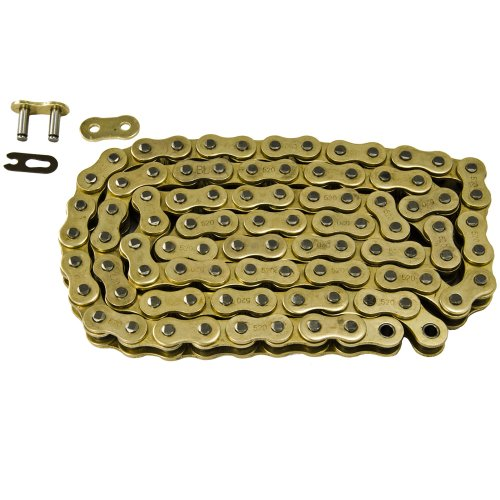 Max Motosports 520 Pitch 108 Links Gold Standard Chain for Ducati 696 Monster 2008 2009 2010