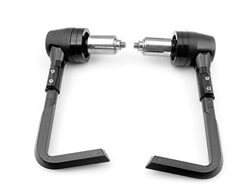 "Knightmotor Black Universal Cnc Plastic & Aluminum 7/8 ""(22mm) Brake Clutch Lever Guard Protector"