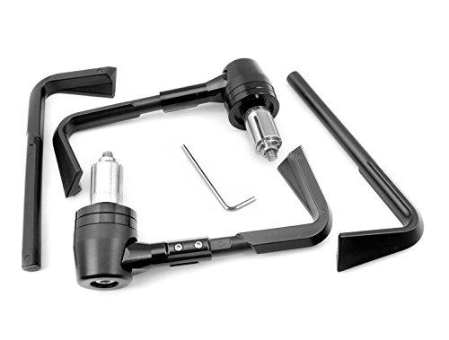 "Universal 2pcs (22mm) Cnc 7/8"" Protector Handlebar Brush Proguard System Pro Brake Clutch Levers Protect Guard"