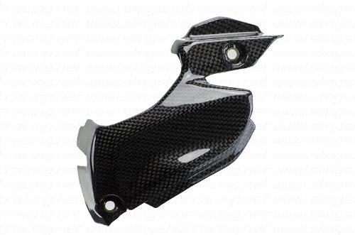 Ducati 899 959 1199 Panigale S Trocolore 1299 Carbon Fiber Fibre Front Sprocket Chain Guard Cover Panel