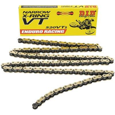 DID 520 VT2 Narrow Enduro Racing X-Ring Chain 520x120 for Ducati 600 Monster 1998-1999