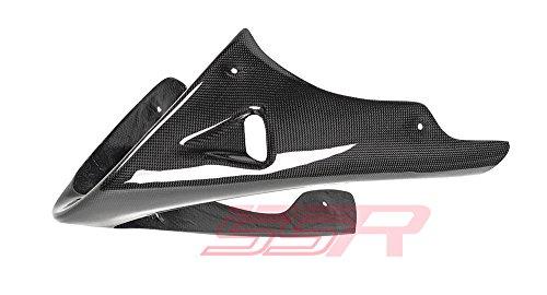 Ducati Monster 600  620ie  750  750ie  900ie Monster 695  800  1000  S4  S4R  S2R 800  S2R 1000 Carbon Fiber Lower Belly Pan Fairing with Mounting Bracket Kit